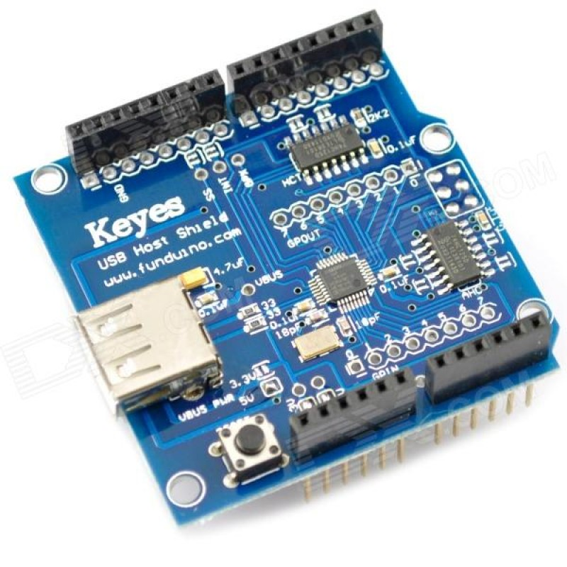 USB Host Shield Revision 2.0 for Arduino